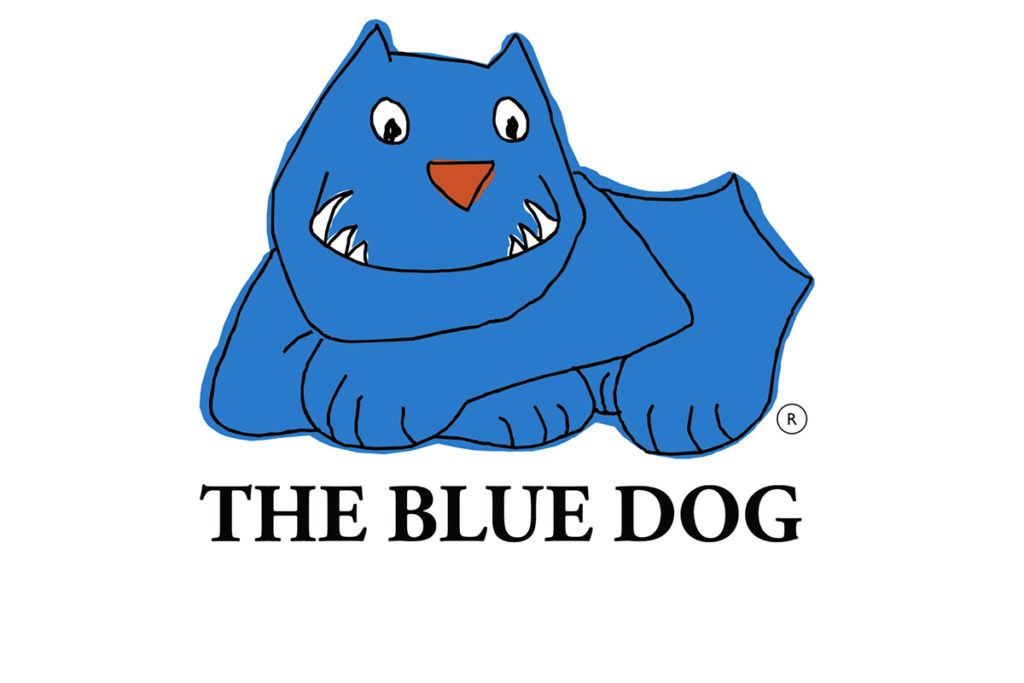 The Blue Dog in Deutschland